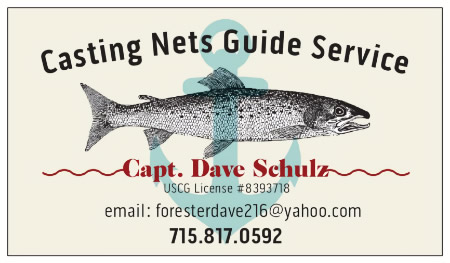 Casting Nets Guide Service Card